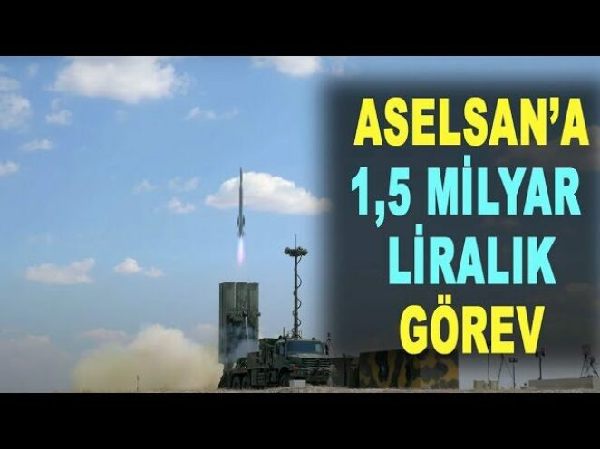 ASELSAN'a yüklü Hisar O+ siparişi – HİSAR air defense missile – ROKETSAN – Savunma Sanayi – ASELS