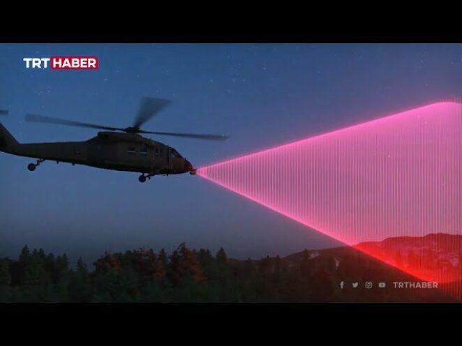 Aktif Helikopter Engel Tespit Sistemi ile helikopterler daha güvenli uçacak