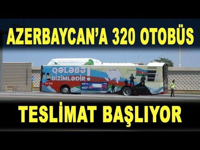 BMC'den Azerbaycan'a dev otobüs filosu – Azərbaycana 320 avtobus – 320 new buses to Azerbaijan