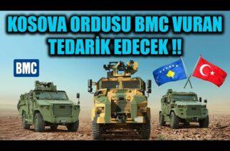 KOSOVA ORDUSU BMC VURAN TEDARİK EDECEK !!