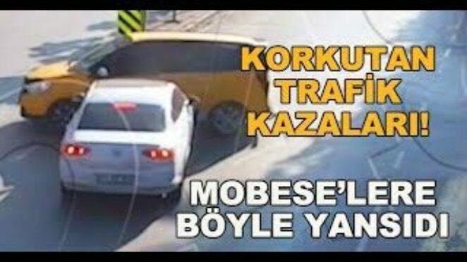 Korkutan trafik kazaları! MOBESE'lere böyle yansıdı – Traffic accidents in Turkey!