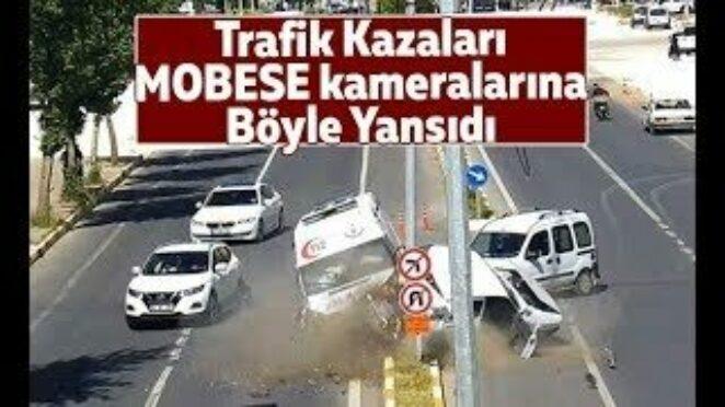 MOBESE Kameralarına Yansıyan Feci Kazalar