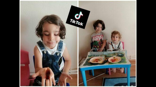 Mustafa&Ege tiktok hayat hilelerini test etti|Acaba jelibon lar büyüdümü??