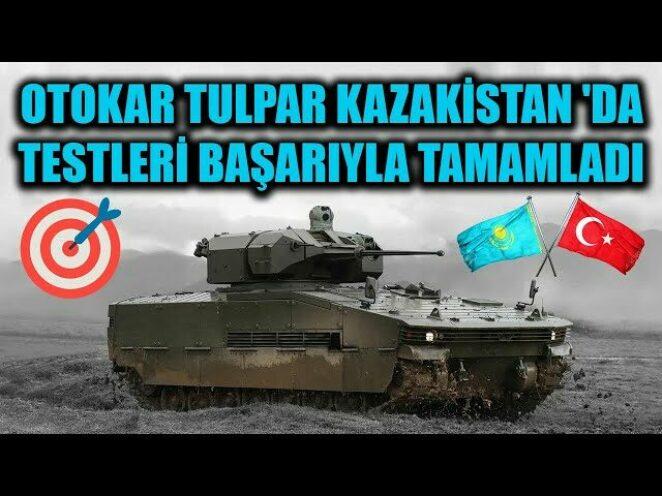 OTOKAR TULPAR KAZAKİSTAN 'DA GİRDİĞİ TESTLERİ BAŞARIYLA TAMAMLADI !!