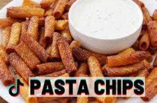Pasta Chips   Viral TikTok Recipe