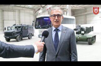 Savunma Sanayii Başkanı Prof. Dr. İsmail Demir Başkent OSB'yi ziyaret etti