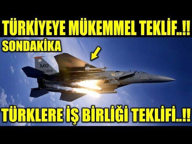 TÜRKİYEYE TEKLİFLE GELDİLER..!! TÜRKLERLE İŞBİRLİĞİ YAPMAK İSTİYORUZ..!!