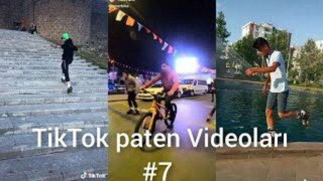 TikTok En İyi Paten Videoları #7 ⛸️