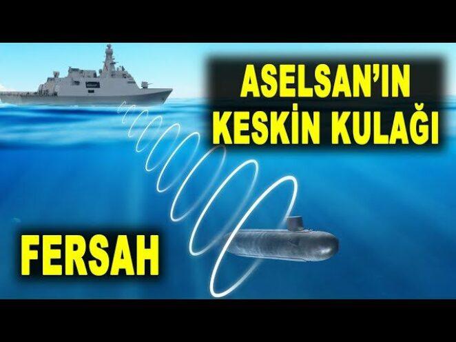Türk gemileri ASELSAN FERSAH ile daha güçlü – New generation sonar FERSAH – Savunma Sanayi – ASELS