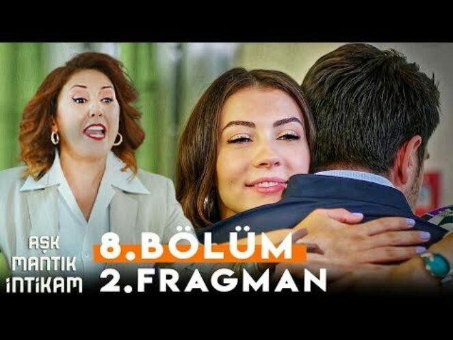 Aşk Mantık İntikam 8. Bölüm 2. Fragman | Zümrüt Ozan ve Esra'yı Sarılırken Yakaladı !