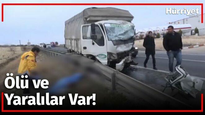 Gaziantep – Nizip Karayolunda Kanlı Trafik Kazası!