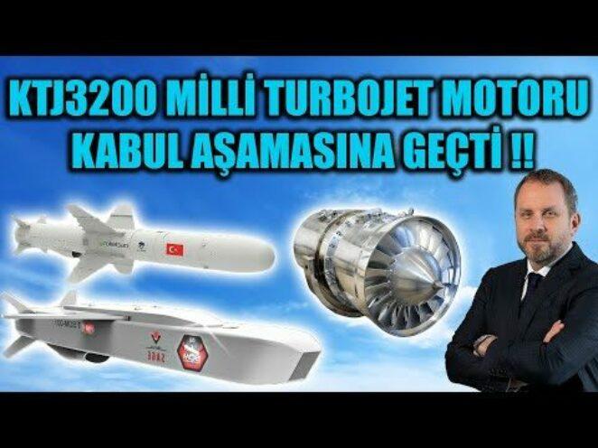 KTJ3200 MİLLİ TURBOJET MOTORU KABUL AŞAMASINA GEÇTİ !!