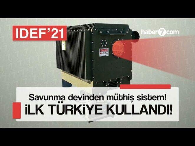 Savunma sanayi devinden müthiş sistem! Bu teknolojiyi ilk Türkiye kullandı | Yerli ve Milli Silahlar