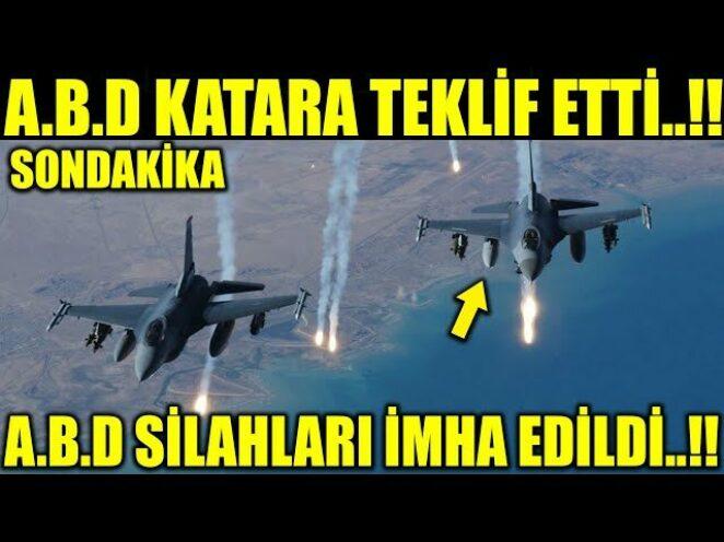 A.B.D ÜSSÜNÜ RESMEN TÜRKİYENİN DOST ÜLKESİNE KURUYOR..!!