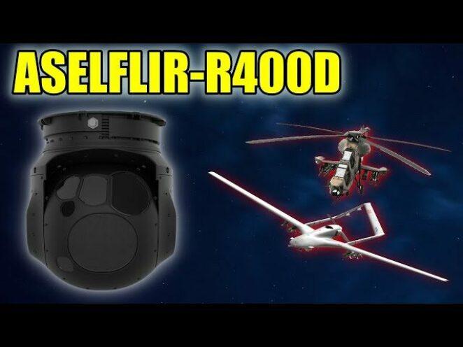ASELFLIR-R400D ELEKTRO-OPTIK KEŞIF VE GÖZETLEME SISTEMI