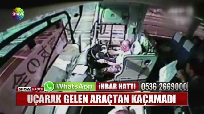 Akılalmaz trafik kazaları