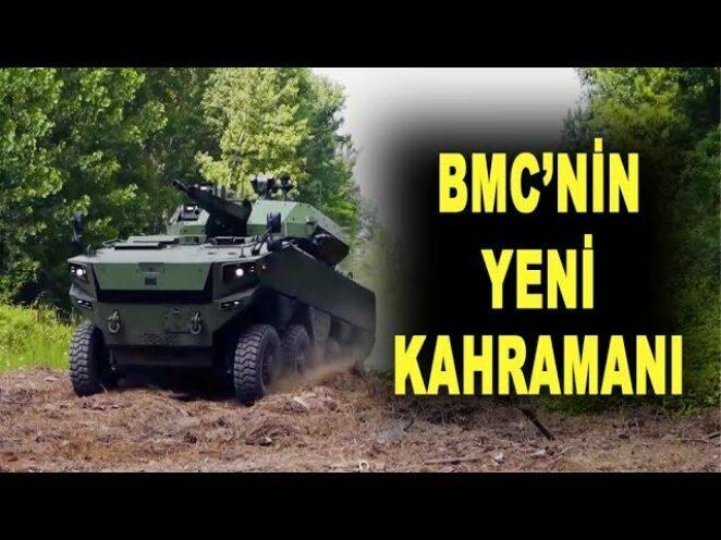 BMC'ye ağır abi: Altuğ 8×8 – New Armored Combat Vehicle Altug 8×8 – Savunma Sanayi – ASELSAN