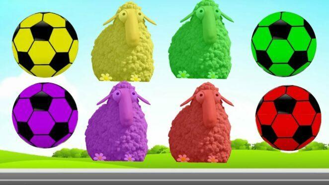 😍CUTE ANIMALS 😍Komik Kuzular Puzzle,Learn Colors 기니 돼지,흰 족제비,토끼,고양이,개,햄스터