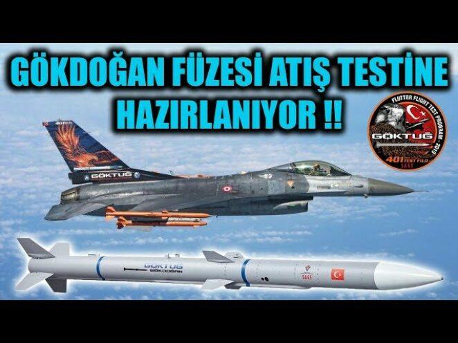GÖKDOĞAN FÜZESİ ATIŞ TESTİNE HAZIRLANIYOR !!