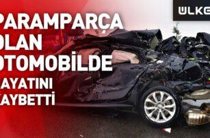 Kuzey Marmara Otoyolu'nda feci kaza: 1 kişi yaşamını yitirdi