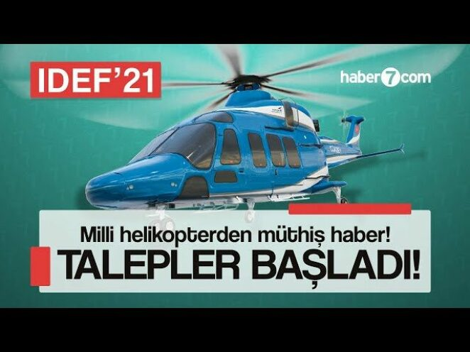 Milli helikopterden müthiş haber! Talep gelmeye başladı | Yerli ve Milli Silahlar