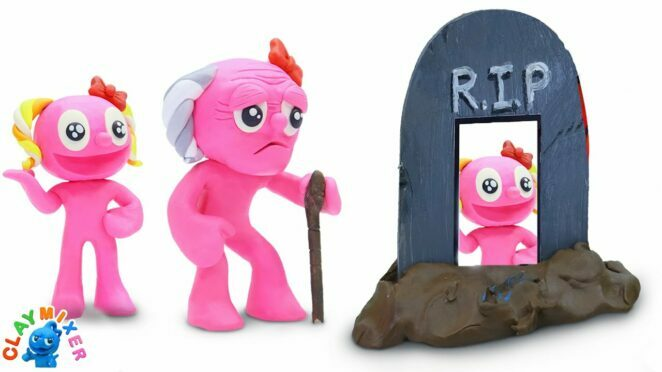 Pinky's LAST WISH – Beautiful Tomb | Funny and Tiny Hilarious Situations | Clay Mixer