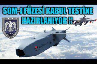SOM-J FÜZESİ KABUL TESTİNE HAZIRLANIYOR !!