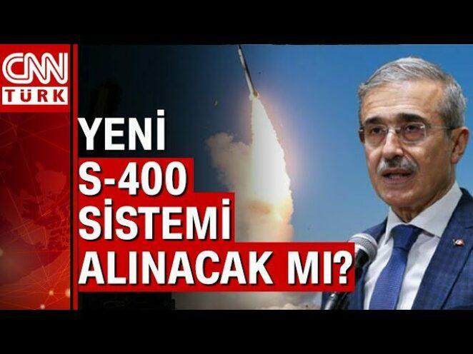 Savunma Sanayii Başkanı Demir'den 'S-400' ve 'Altay Tankı' açıklaması