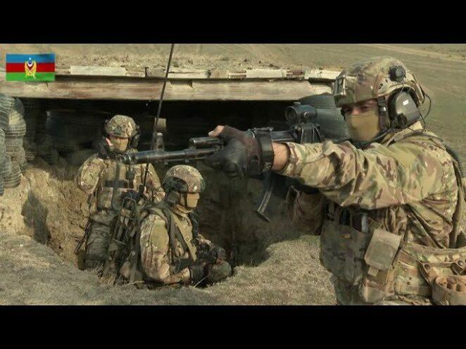 Azerbaycan Özel Kuvvetleri / Taktik eğitim