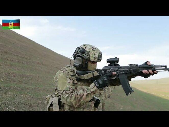 Azerbaycan Özel Kuvvetleri'nin taktik eğitimi