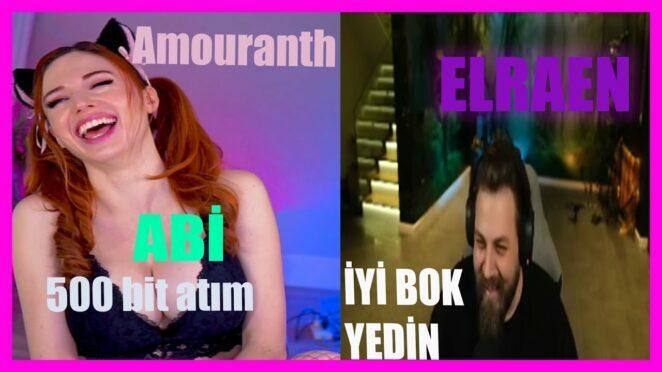 Elraenn – Amouranth 500 bit komik anlar .))