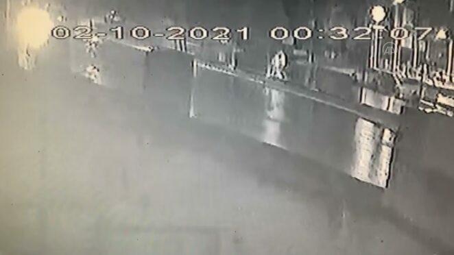 Gaziosmanpaşa'da 3 yayanın hayatını kaybettiği kaza güvenlik kamerasına yansıdı