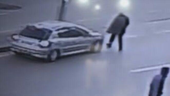 Gölbaşı'ndaki trafik kazaları güvenlik kameralarına yansıdı