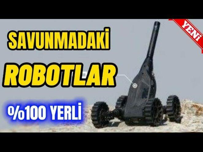 TSK ENVANTERİNE YENİ ROBOT – Savunma Sanayi