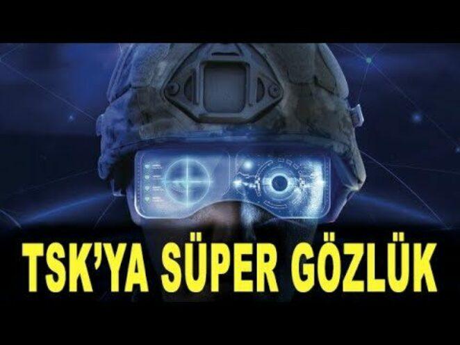 TSK son teknolojiyle görecek – Artırılmış gerçeklik gözlüğü – ASELSAN SİVAS – BİTES – Savunma Sanayi