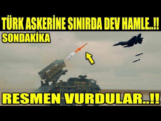 TÜRK ASKERİNE RESMEN ATEŞ AÇTILAR..!! SINIRDA HAREKETLİLİK BAŞLADI..!!