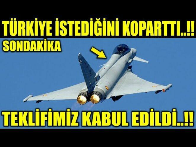 TÜRKİYE İSTEDİĞİNİ KOPARTTI ALDI..!! TÜRKİYE TEKLİF ETTİ KABUL EDİLDİ..!!