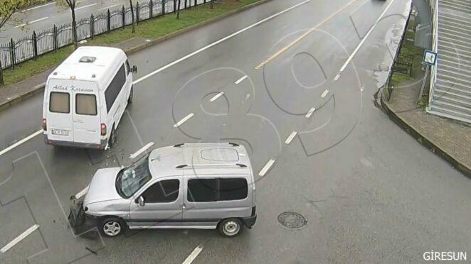 trafik kazalari 2021 yeni MOBESE görüntüleri